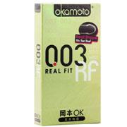 冈本OK 0.03贴身超薄装 避孕套