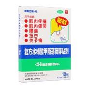 撒隆巴斯-爱 复方水杨酸甲酯薄荷醇贴剂