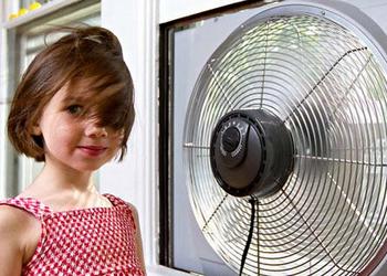 科学合理使用空调、风扇,宝宝舒服不生病