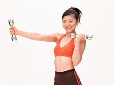 女学生怎样减肥效果好 有氧杠铃操