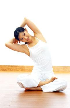 减肥瘦身 几个瑜伽动作教你瘦身