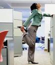 办公室白领减肥 简单减肥操减肥